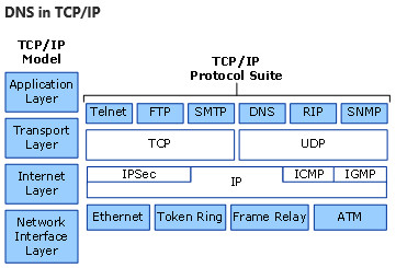 DNS in TCP/IP