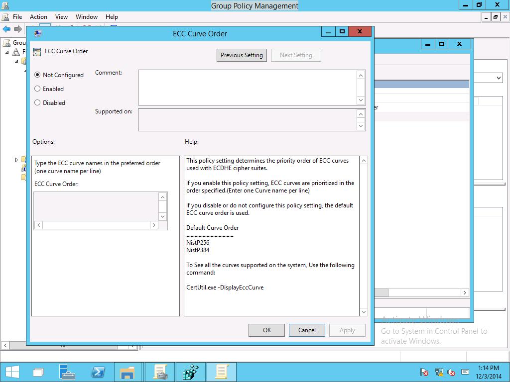 Manage Transport Layer Security (TLS) | Microsoft Docs