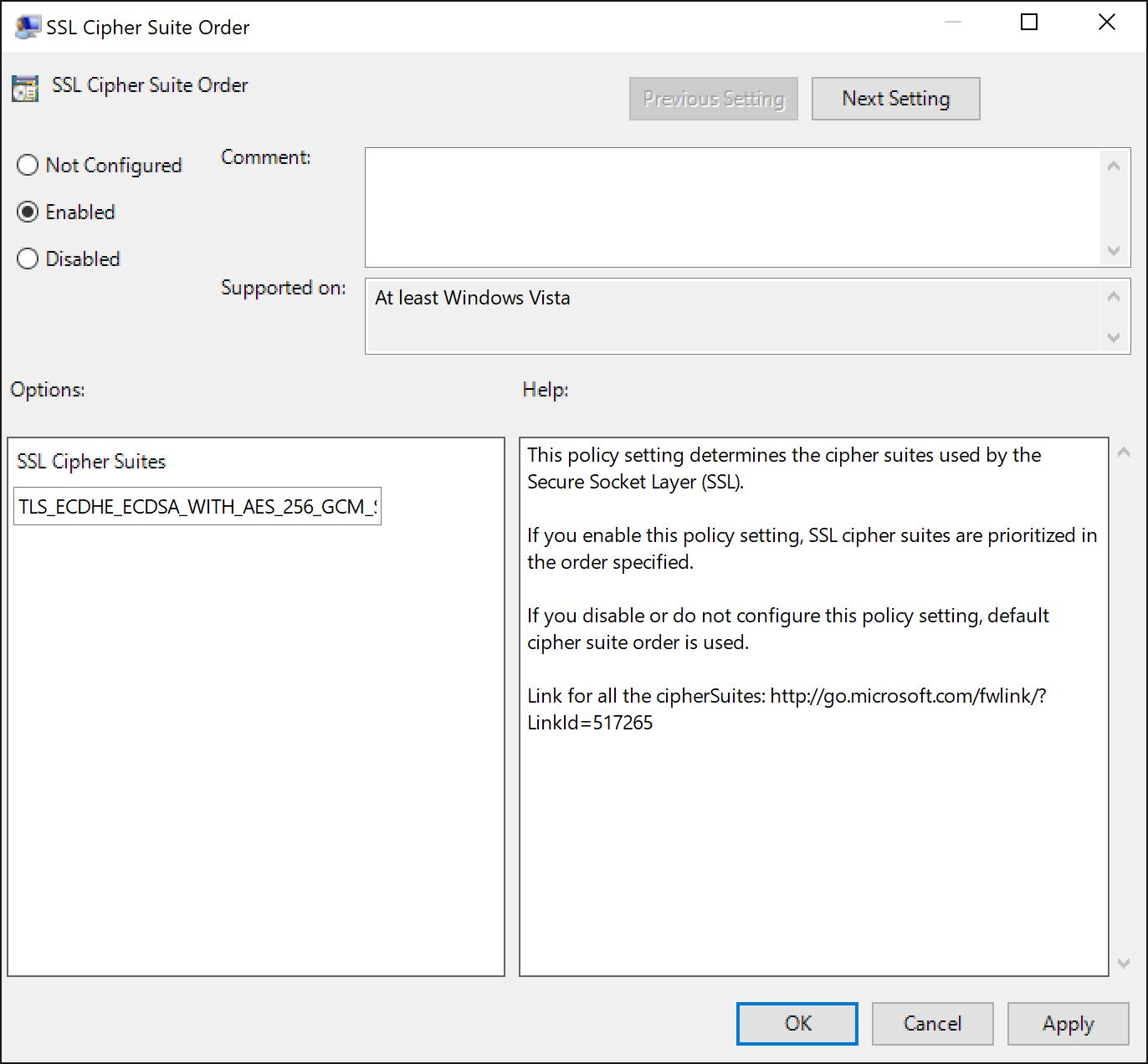Manage Transport Layer Security (TLS)   Microsoft Docs