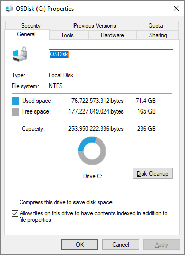 How to add missing disk cleanup in windows server 2012 | password.