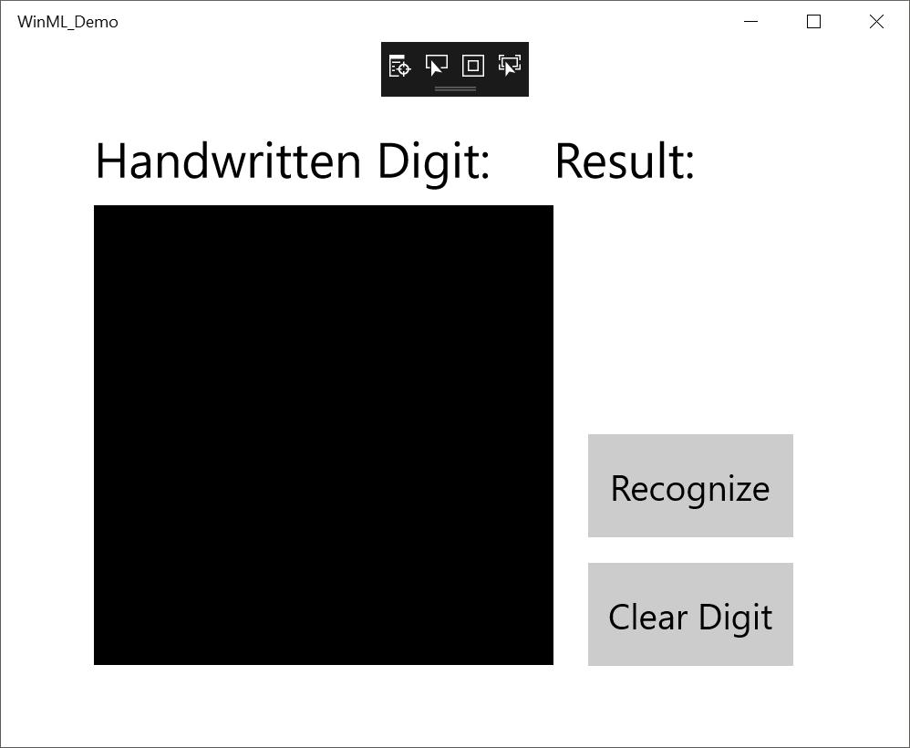 Create a Windows Machine Learning UWP application (C