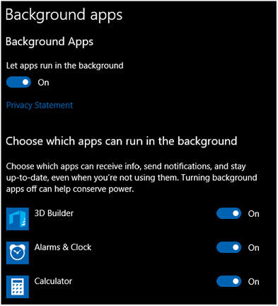 Windows phone app im hintergrund