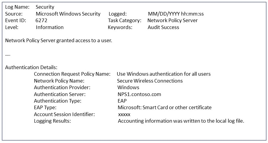 Advanced Troubleshooting 802 1X Authentication | Microsoft Docs