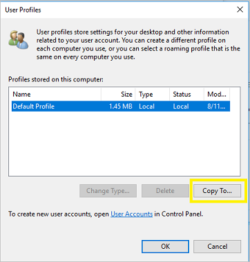 Create mandatory user profiles (Windows 10) | Microsoft Docs