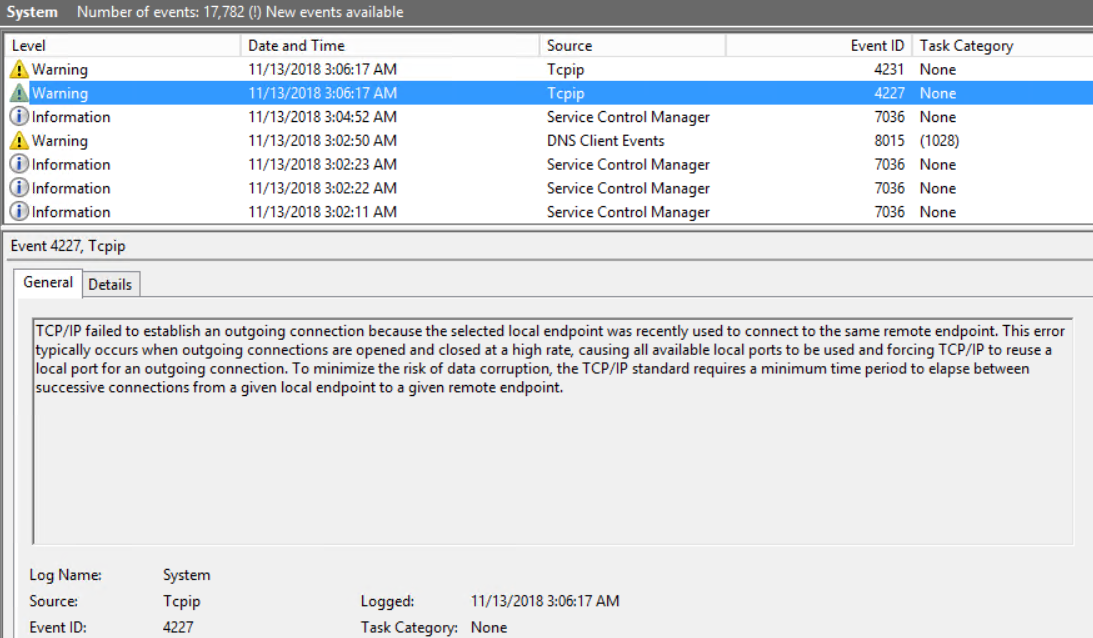 Troubleshoot port exhaustion issues | Microsoft Docs