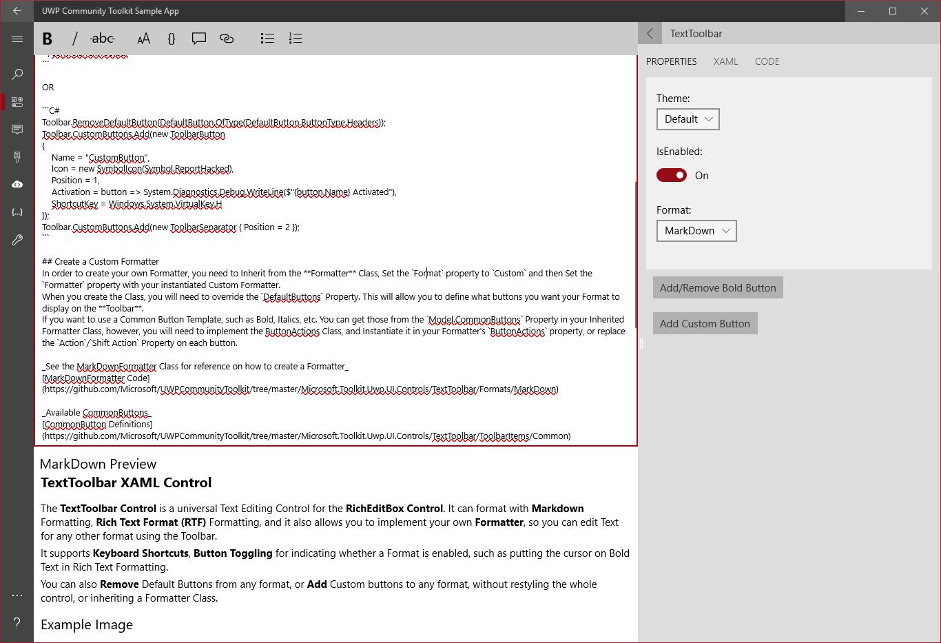 Datagrid Xaml Control Windows Community Toolkit Microsoft