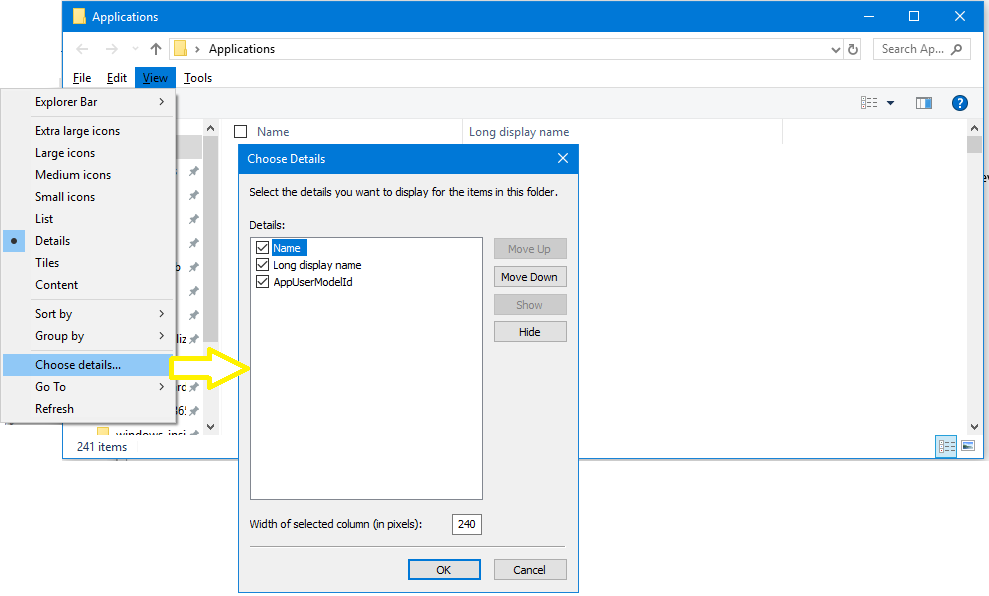 Find The Application User Model Id Of An Installed App Configure Windows Microsoft Docs