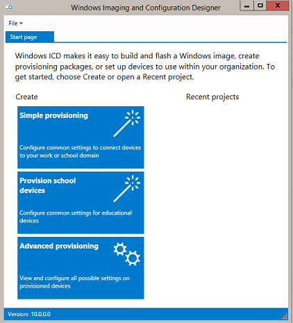 Provisioning packages (Windows 10) | Microsoft Docs