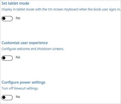 What tablets can be used without an initial setup?