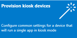 Set up a single-app kiosk (Windows 10) | Microsoft Docs