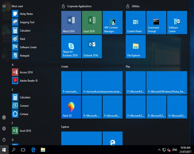 Troubleshoot Start menu errors | Microsoft Docs