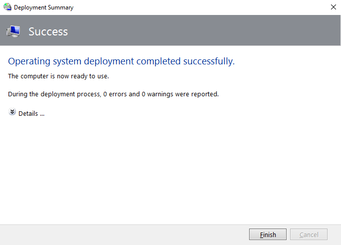 Step by step - Deploy Windows 10 in a test lab using MDT