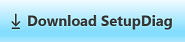 Download SetupDiag