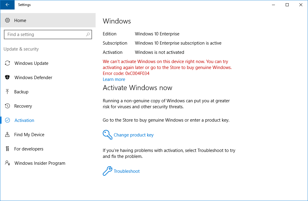 Deploy Windows 10 Enterprise licenses | Microsoft Docs