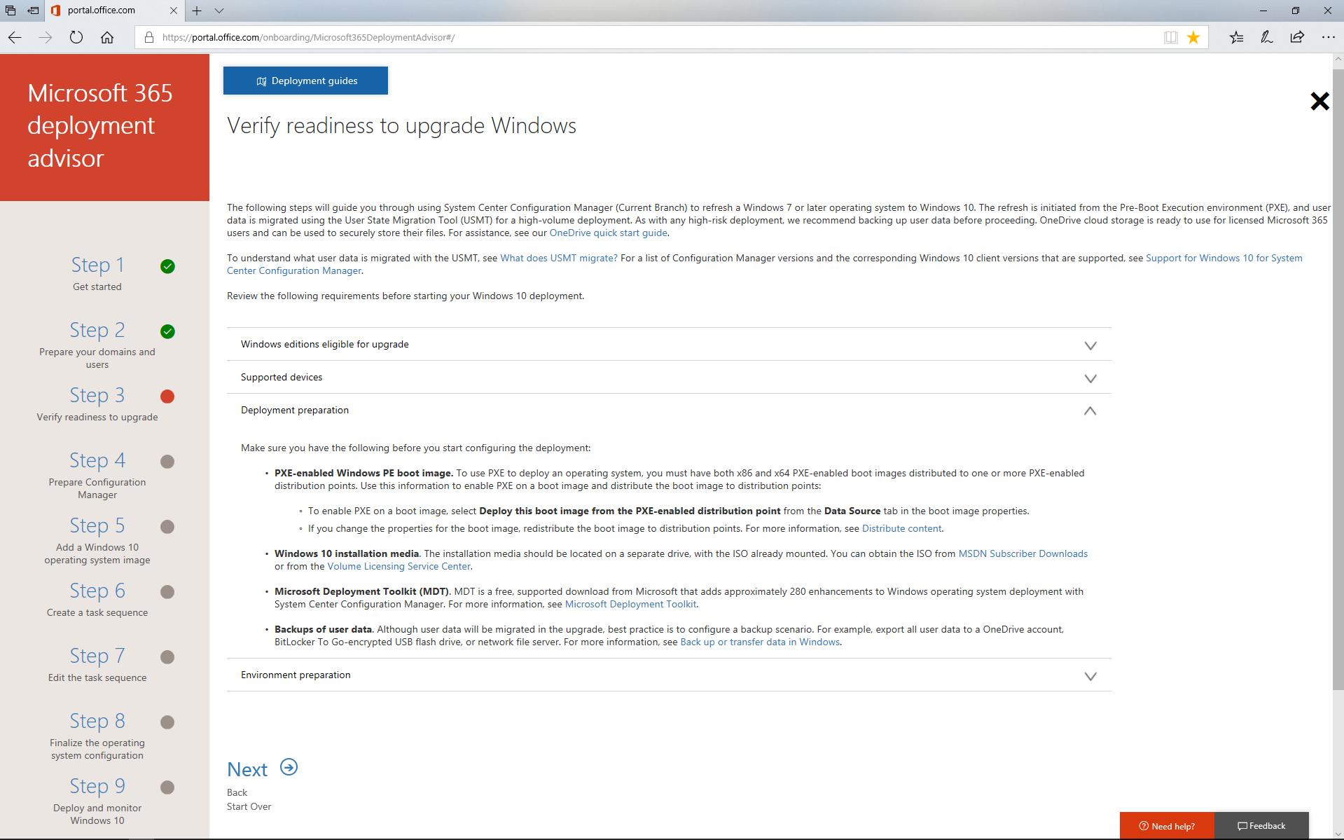 Deploy Windows 10 with Microsoft 365 | Microsoft Docs