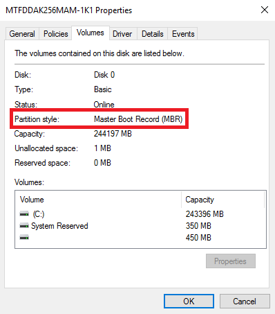 MBR2GPT | Microsoft Docs