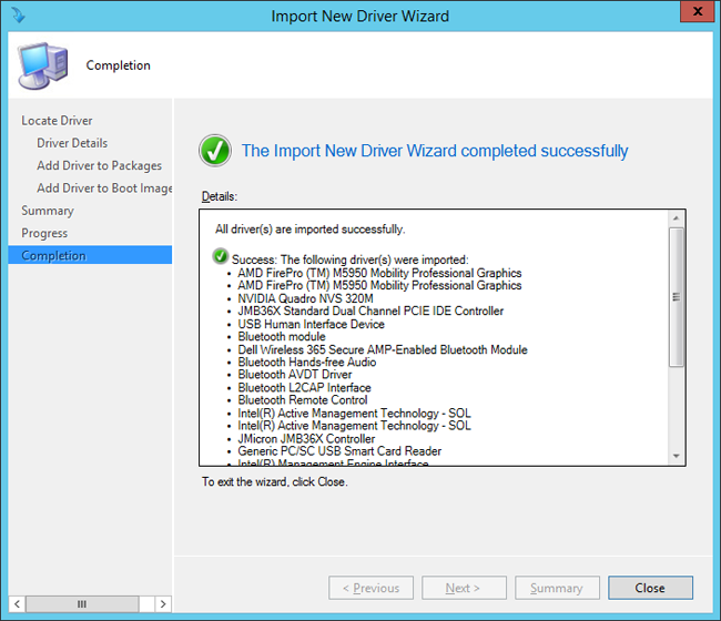 Add drivers to a Windows 10 deployment with Windows PE using