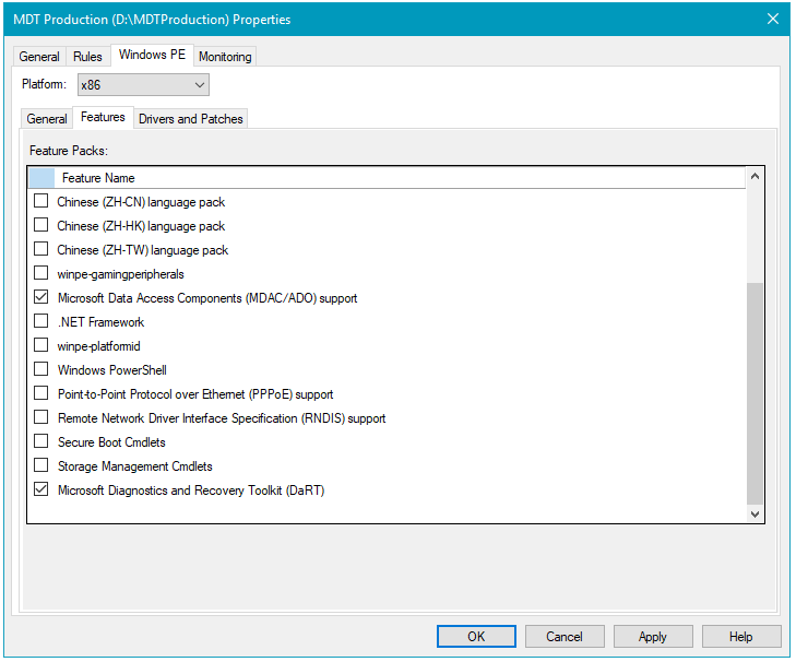 Deploy a Windows 10 image using MDT (Windows 10) | Microsoft Docs