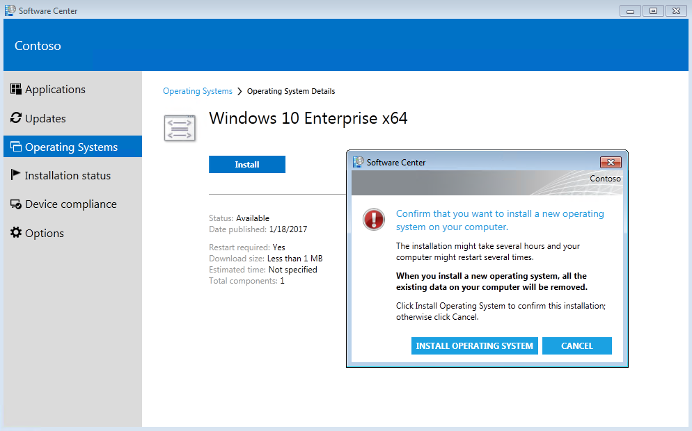 Step by step - Deploy Windows 10 using System Center