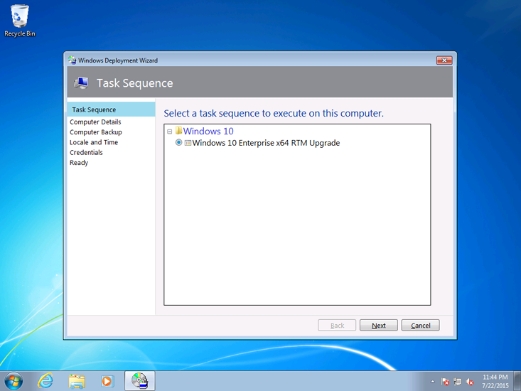 Perform an in place upgrade to windows 10 with mdt windows 10 figure 4 ccuart Images