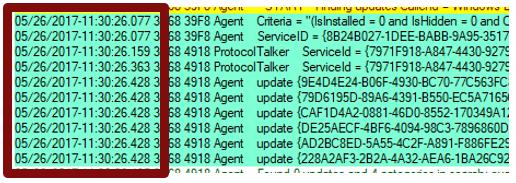 Windows Update log files | Microsoft Docs