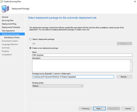 Deploy Windows 10 updates using System Center Configuration
