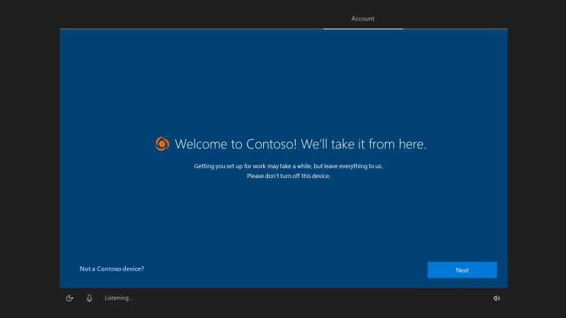 Windows Autopilot Self-Deploying mode | Microsoft Docs