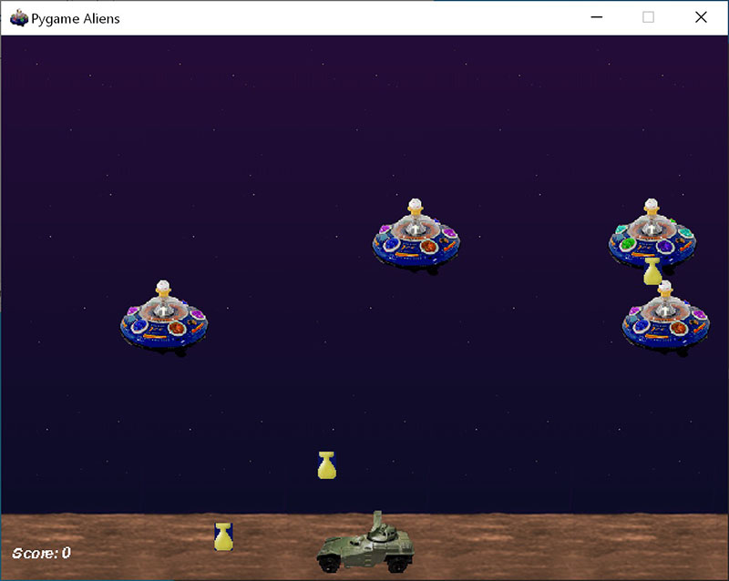 Pygame While Running