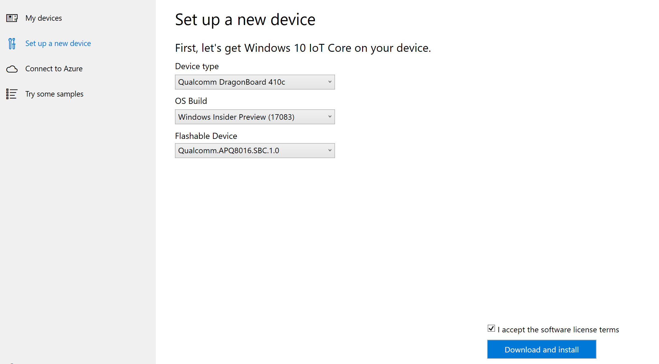 Setting up your device - Windows IoT | Microsoft Docs
