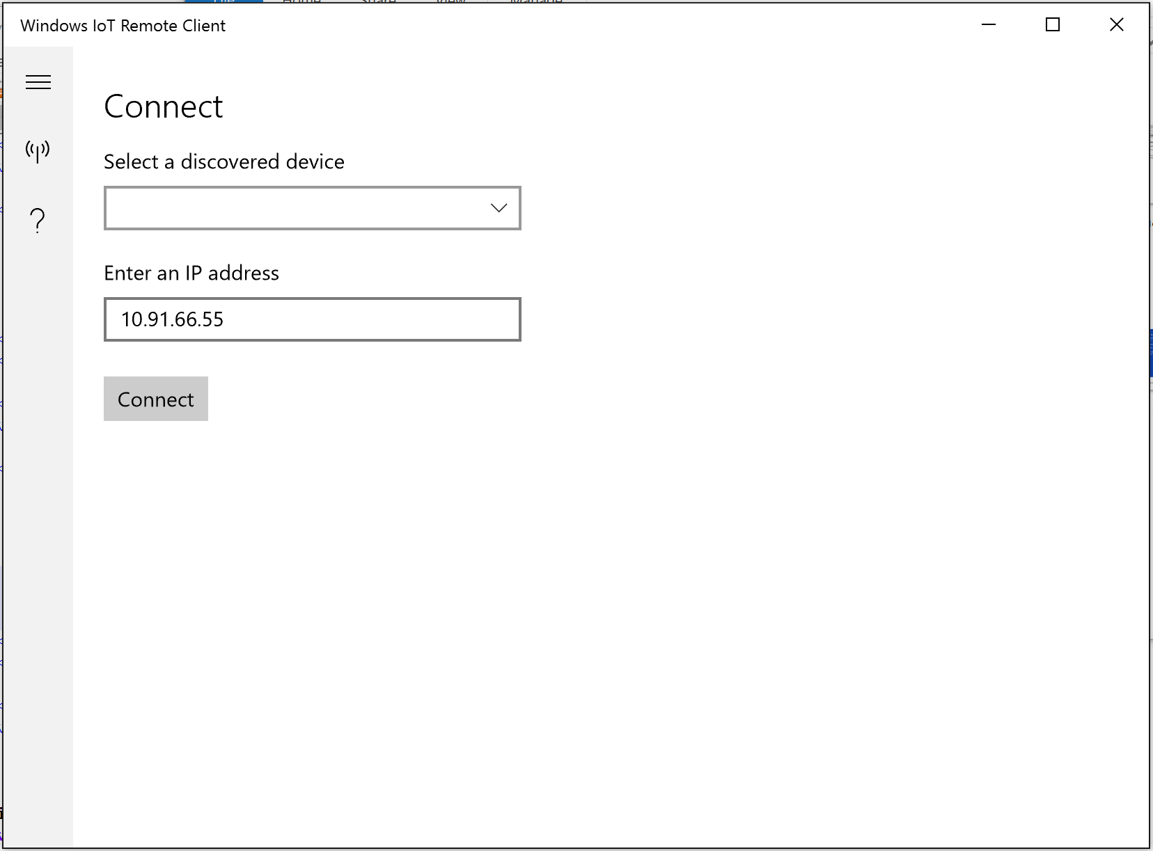 Remote display - Windows IoT | Microsoft Docs