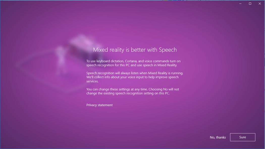 Set up Windows Mixed Reality - Enthusiast Guide | Microsoft Docs