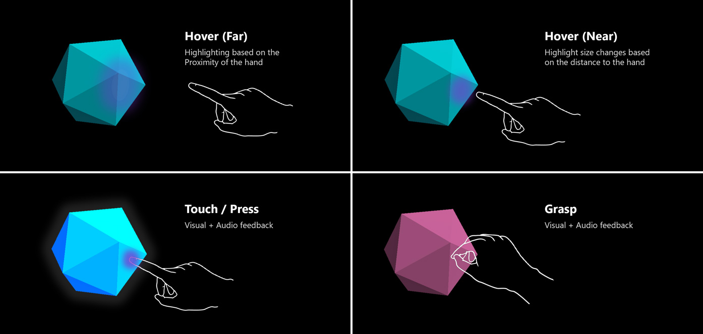 Interactable object - Mixed Reality | Microsoft Docs