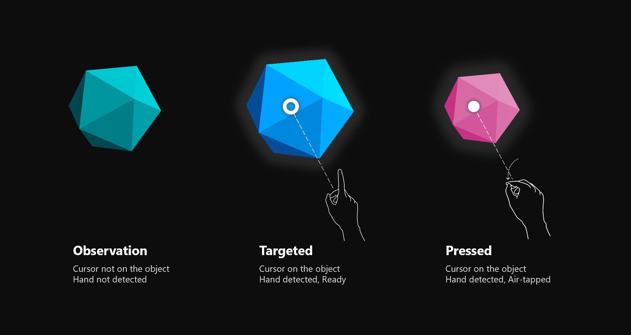 Interactable object - Mixed Reality   Microsoft Docs