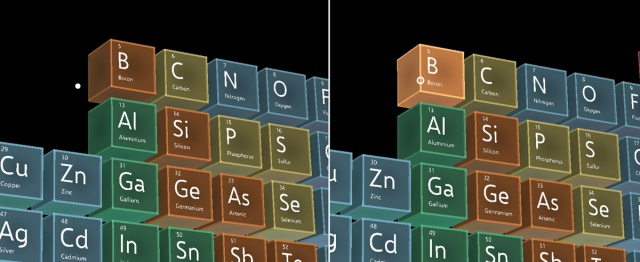 Periodic table of the elements mixed reality microsoft docs nteractable object urtaz Choice Image