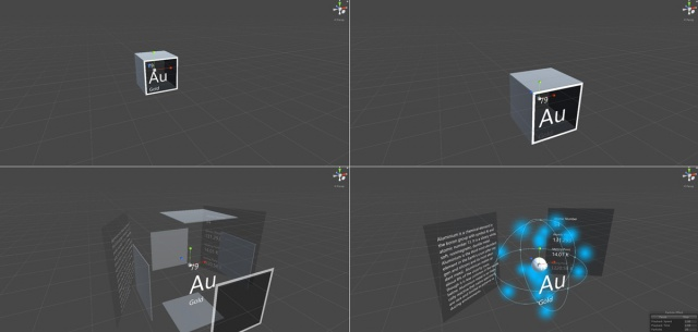 Periodic table of the elements mixed reality microsoft docs interaction urtaz Gallery