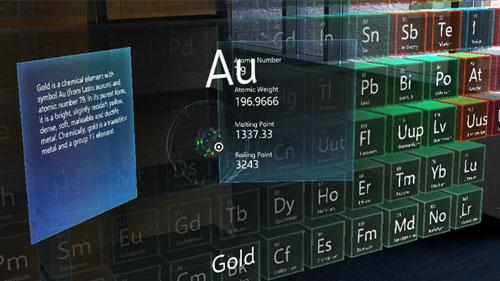 Open source projects mixed reality microsoft docs periodic table of the elements sample app urtaz Choice Image
