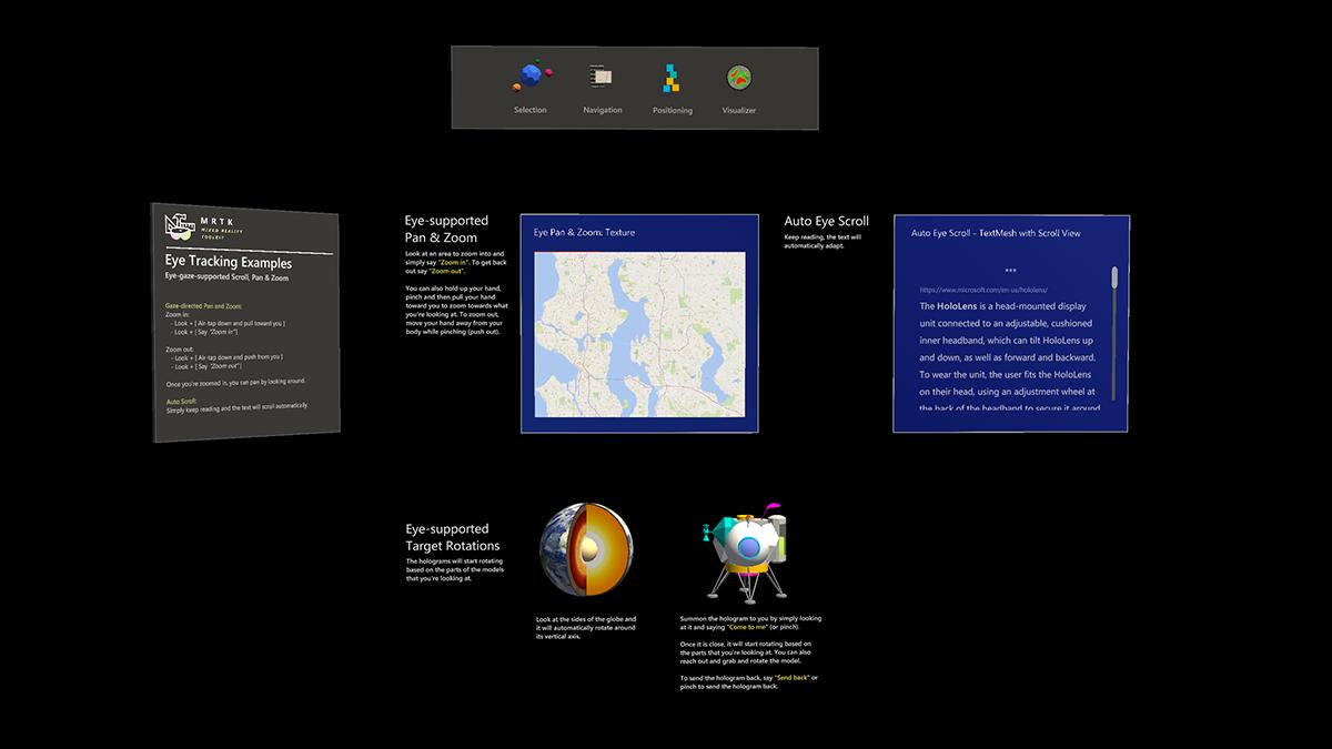 Eye Tracking: Navigation