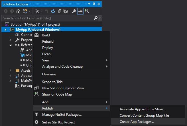 Packaging UWP apps - MSIX   Microsoft Docs