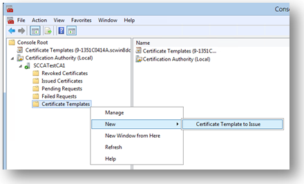 Get started with virtual smart cards walkthrough guide windows right click menu for certificate templates yadclub Images