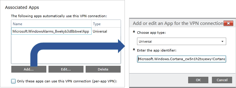 VPN auto-triggered profile options (Windows 10) | Microsoft Docs