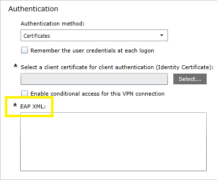 VPN authentication options (Windows 10) | Microsoft Docs