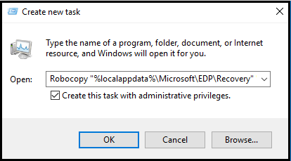 Create and verify an Encrypting File System (EFS) Data Recovery