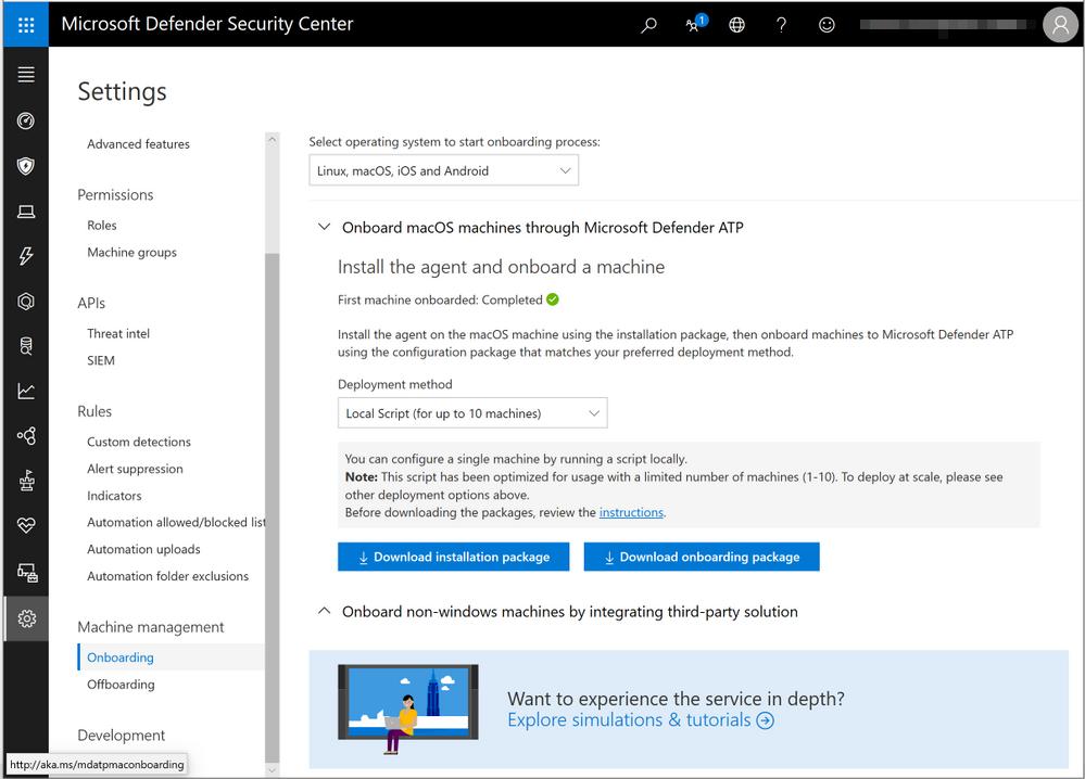Installing Microsoft Defender ATP for Mac manually | Microsoft Docs