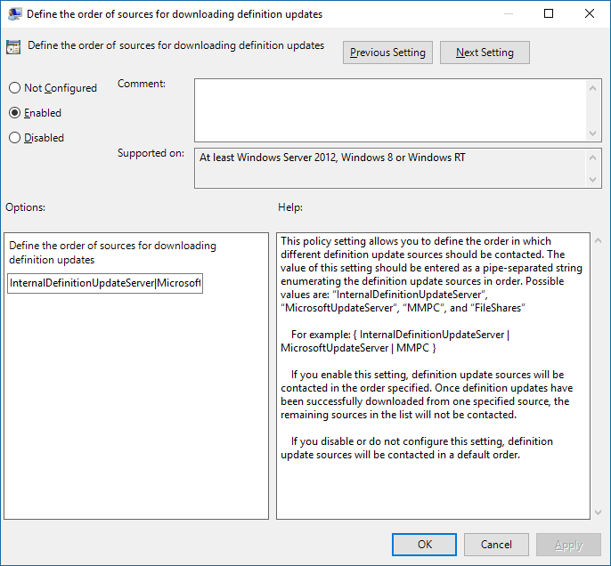 Manually updating microsoft forefront client security | computer.