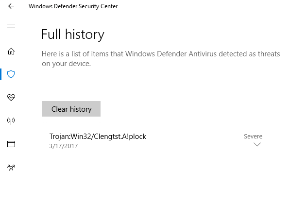 Configure and validate Windows Defender Antivirus network
