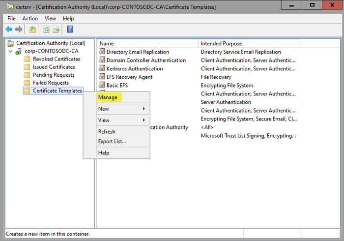 Create a code signing cert for Windows Defender Application Control ...