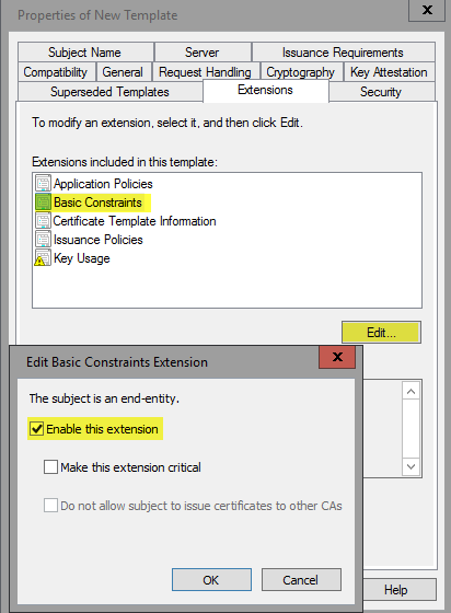 I Do See That Certificate In The Windows Mmc Snap Under Trusted Root Certification Authorities But On At Least 3 Other Hines It Does
