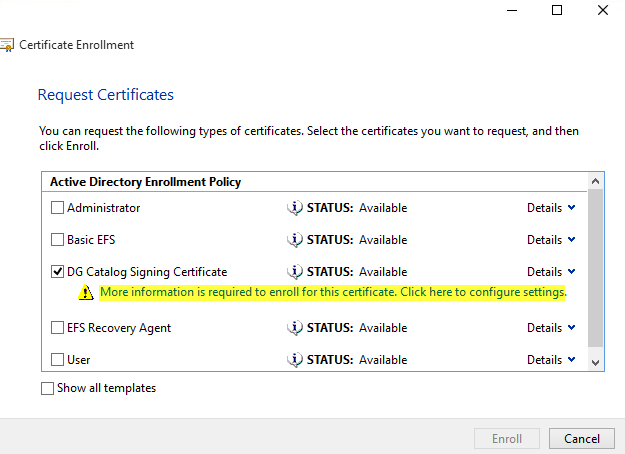 Make Sure You Confirm The Installation Of Certificate