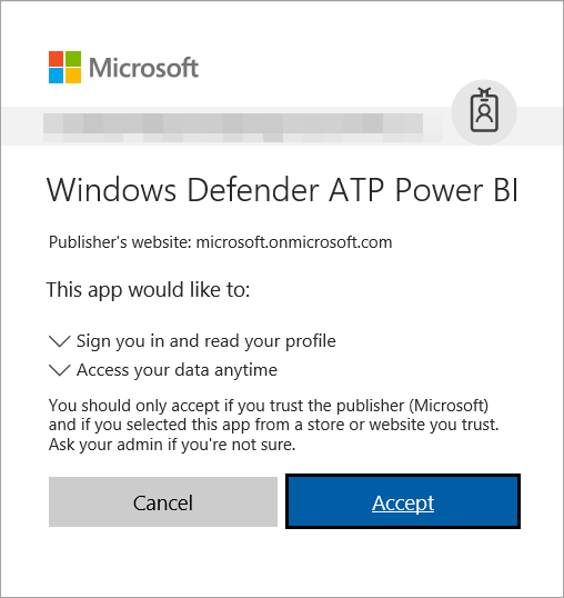 create and build power bi reports using windows defender atp data