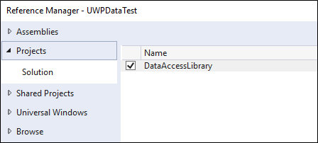 Use a SQLite database in a UWP app - Windows UWP
